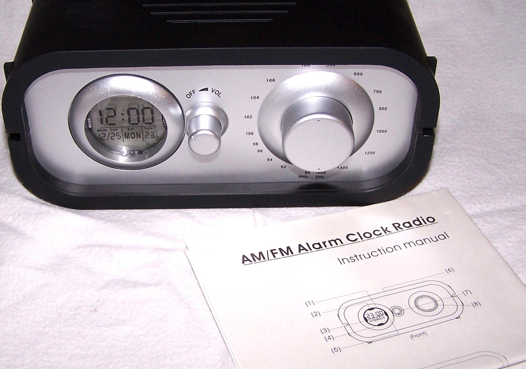 Audio & Video - AM/FM-Radio mit Weckfunktion