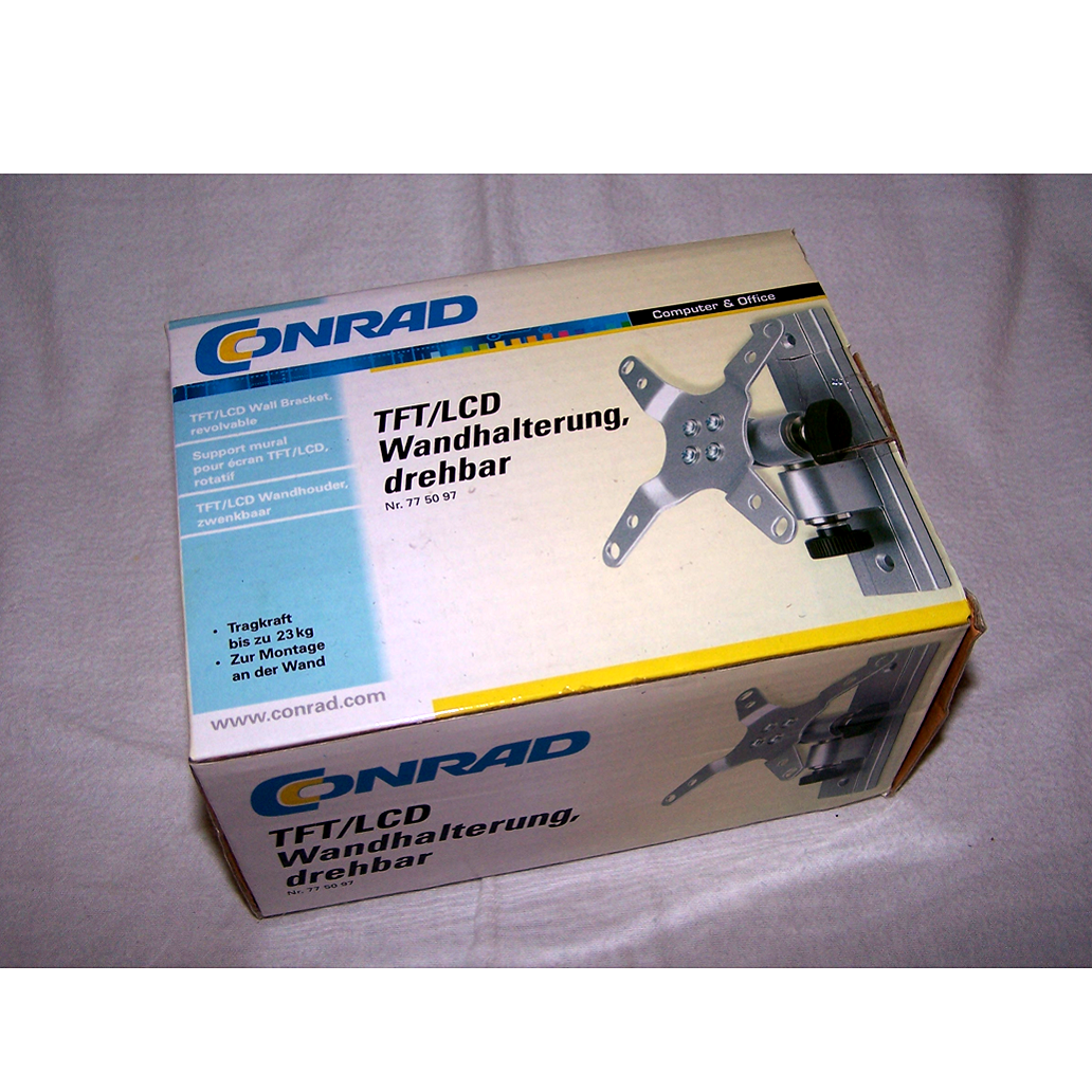 Büro - EDV-IT - TV-/Monitorhalterung Conrad