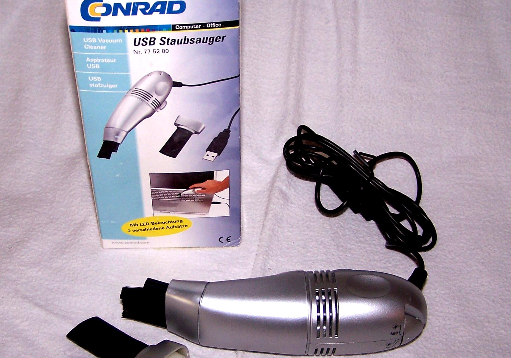 Büro - EDV-IT - USB-Staubsauger Conrad