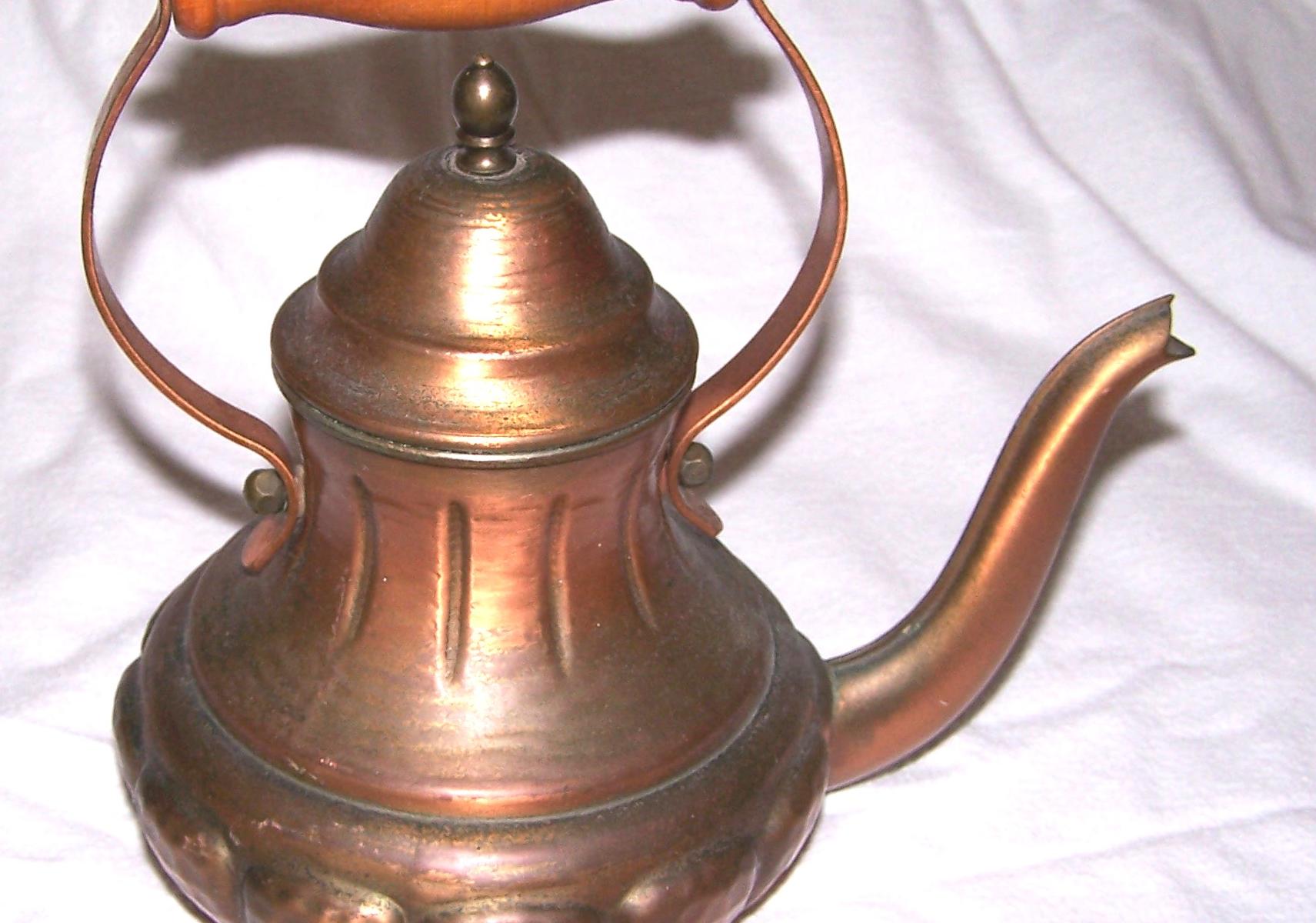 Haushalt- Servieren - Teekanne 1,0 l - Kupfer