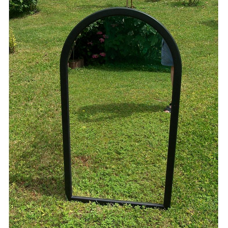 Möbel - Spiegel schwarzer Rand