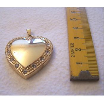 Schmuck - Anhänger - Herz in Gold