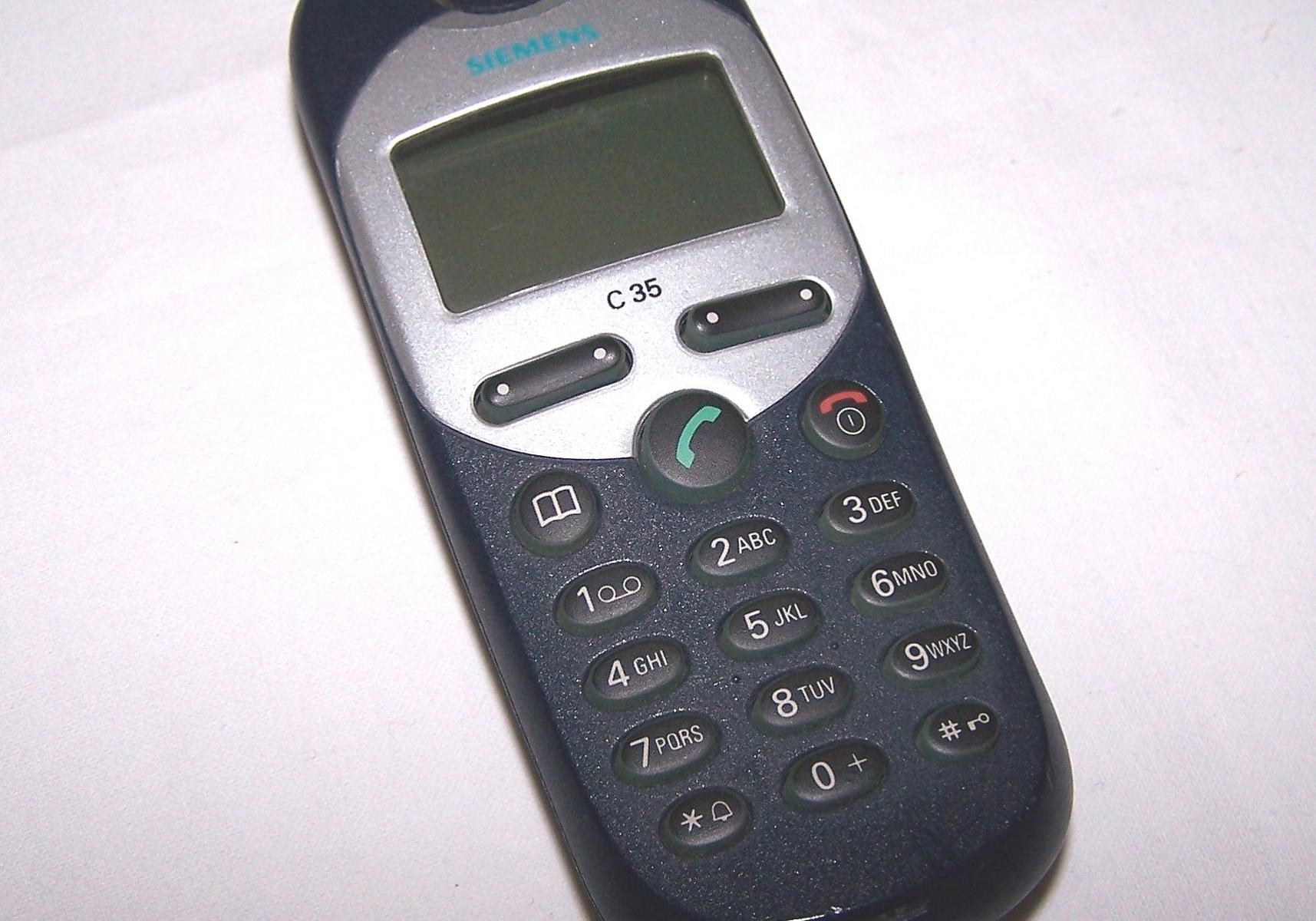 Büro - IT & Kommuniaktion - Mobiltelefon Siemens C35