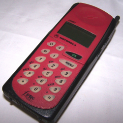 Büro - IT & Kommunikation - Mobiltelefon Motorola Flare