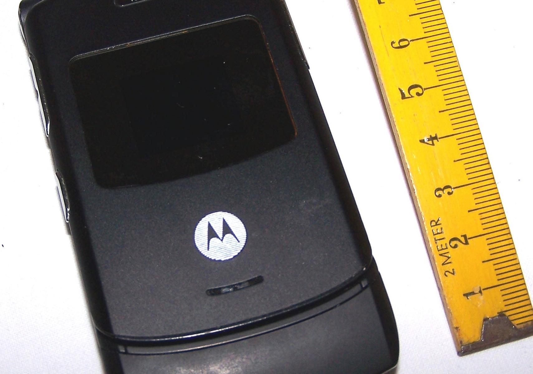 Büro - IT & Kommunikation - Mobiltelefon Motorola Motorazr V3