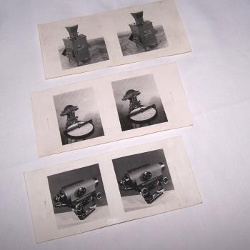Audio, Video & Foto - Stereoskop Carl Zeiss - Stereofoto-Vorlagen