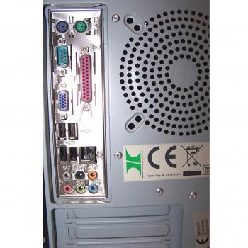 Büro - IT & Kommunikation - Arbeitsplatzrechner NBS Rückseite