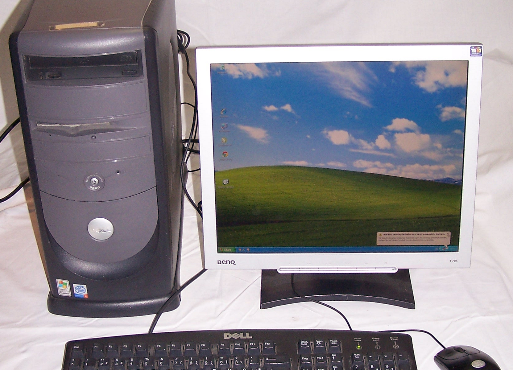 Büro - IT & Kommunikation - Arbeitsplatzrechner Dell Dimension 4550
