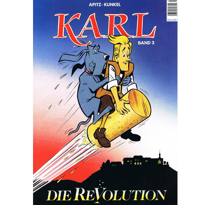 """Literatur - Comics - Karl Band 3 """"Die Revolution"""""""