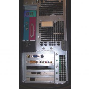 Büro - IT & Kommunikation - Arbeitsplatzrechner Dell Dimension 4400 Rückseite