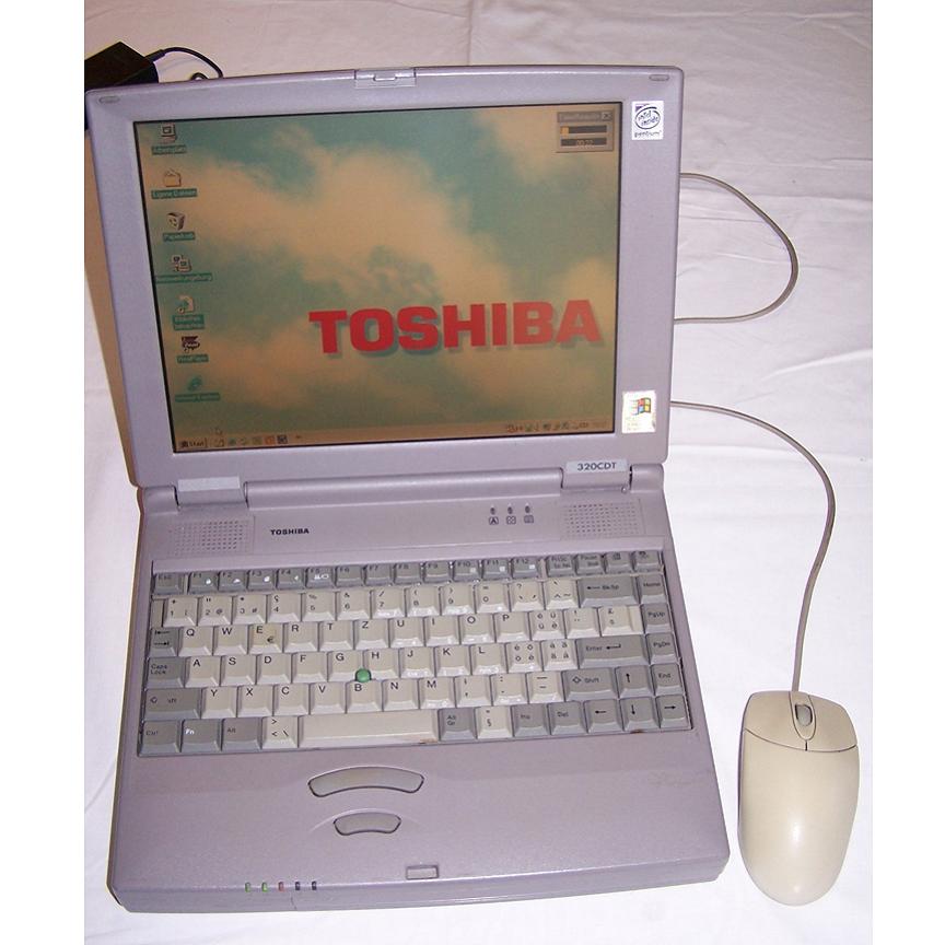 Büro - IT & Kommunikation - Toshiba Laptop Satellite 320CDT