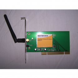 Büro - IT & Kommunikation - Wireless PCI Adapter Netgear