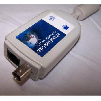 Büro - IT & Kommunikation - 3Com EtherLink III LAN PC Card LAN Coax Anschluss