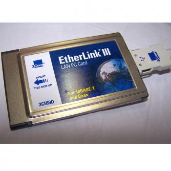 Büro - IT & Kommunikation - 3Com EtherLink III LAN PC Card Detail