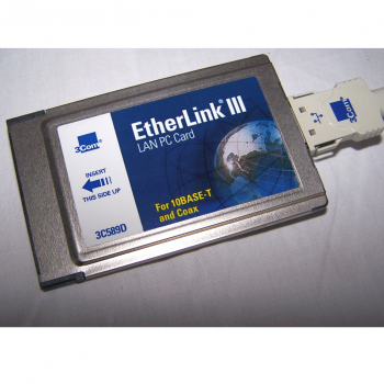 Büro - IT & Kommunikation - 3Com EtherLink III LAN + Modem PC Card Detail