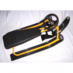 Sport - Winter - Snowracer gelb/schwarz