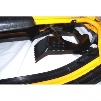 Sport - Winter - Snowracer gelb/schwarz Bremse