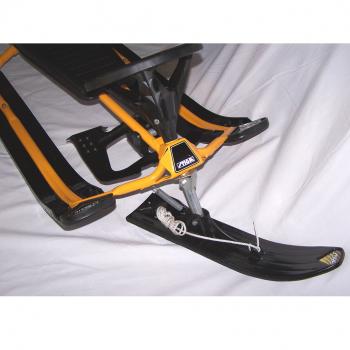 Sport - Winter - Snowracer gelb/schwarz Lenkkufe