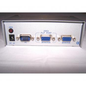 Büro - IT & Kommunikation - Monitor-Splitter Anschlüsse