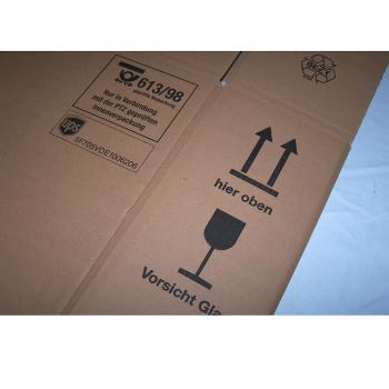 Versand - Karton für 3 Flaschen