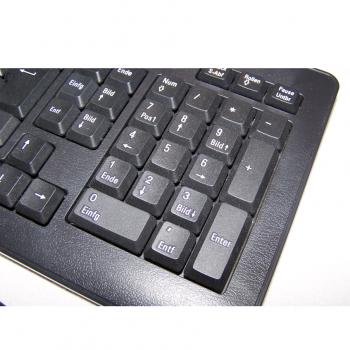 Büro - IT & Kommunikation - Funk-Tastatur mit Funkmaus Nummernblock