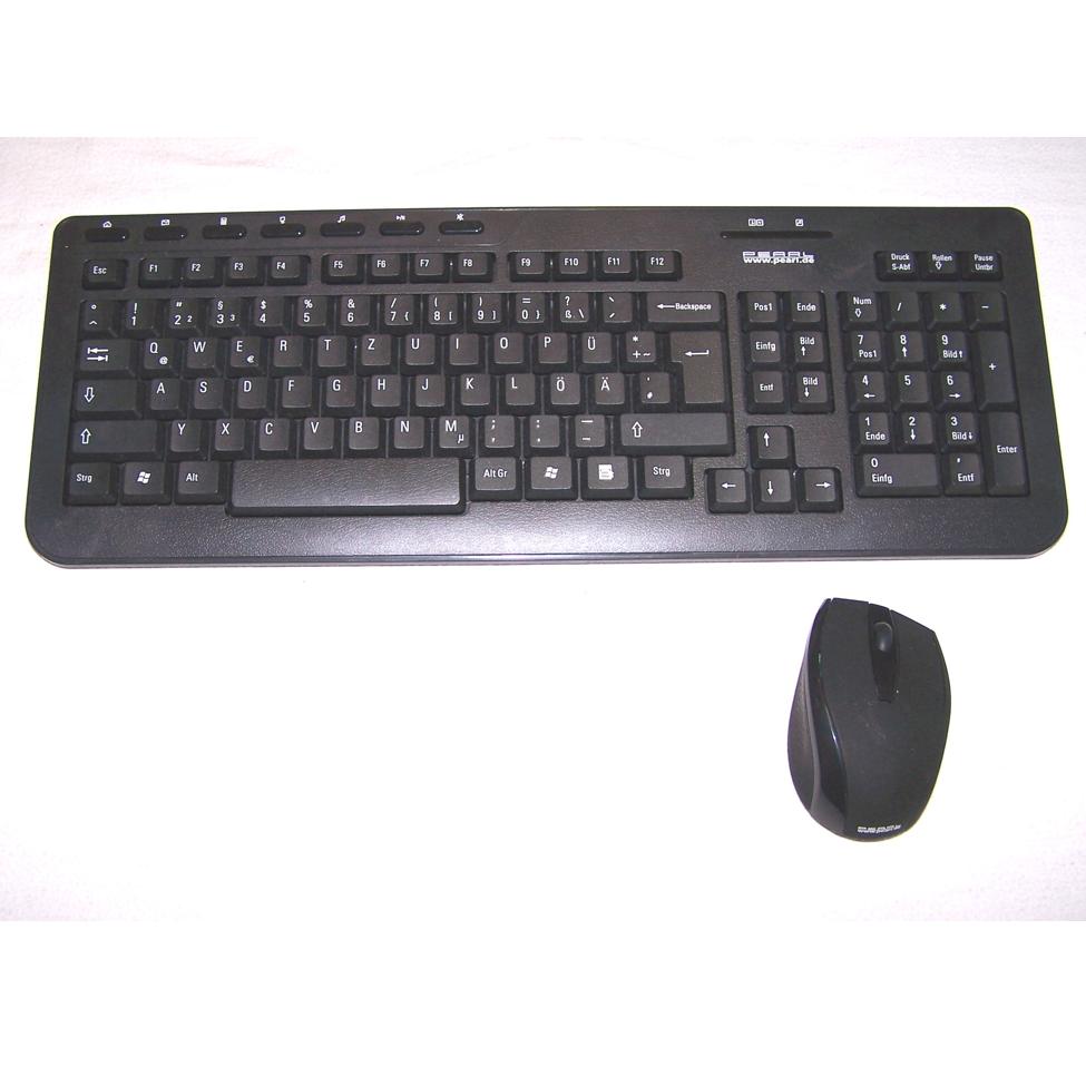 Büro - IT & Kommunikation - Funk-Tastatur mit Funkmaus