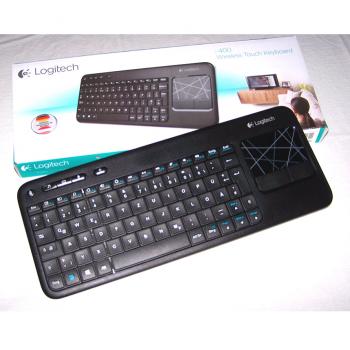 Büro - IT & Kommunikation - Funk-Tastatur mit Touch Keyboard mit Verpackung