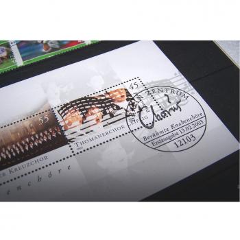 Hobby - Briefmarken - Sonderpostwertzeichen 1. Quartal 2003 - Sonderstempel