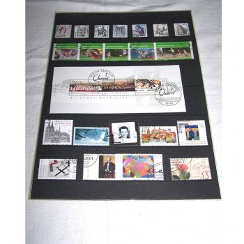 Hobby - Briefmarken - Sonderpostwertzeichen 1. Quartal 2003 - Marken