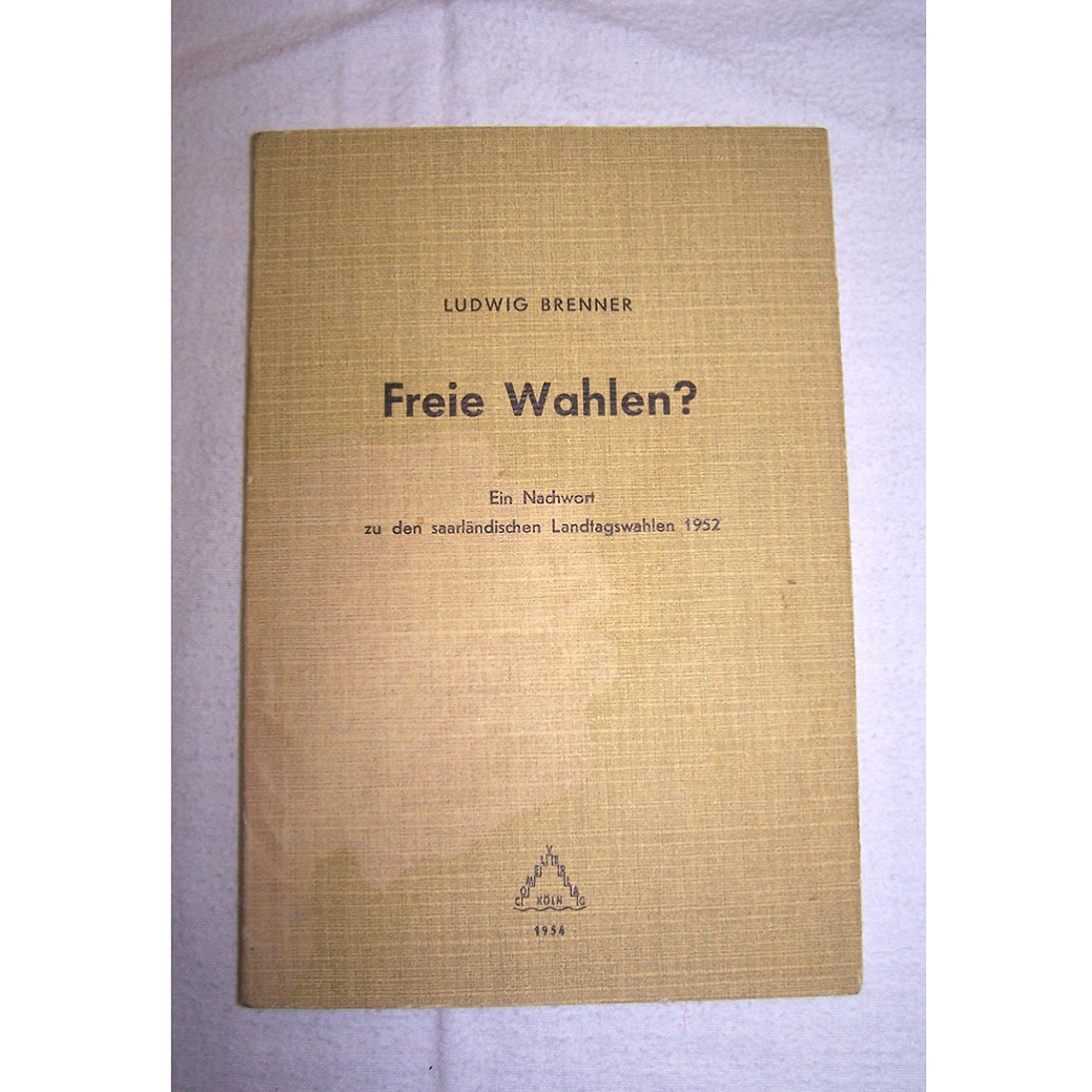Literatur - Sachbücher - Freie Wahlen