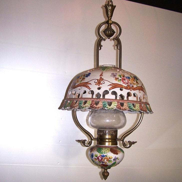 Licht - Deckenlampe Landhausstil mit passender Wandlampe