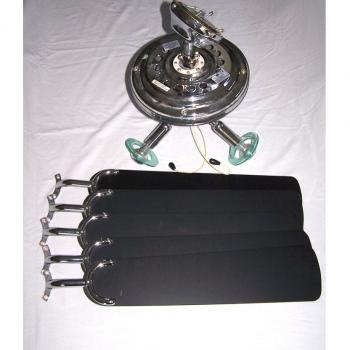 Licht-Wetter - Deckenventilator mit Leuchte - Einzelteile