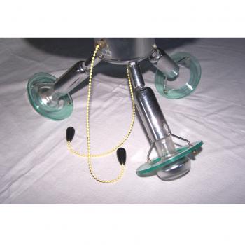 Licht-Wetter - Deckenventilator mit Leuchte - Lichtmontur