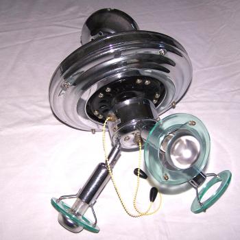 Licht-Wetter - Deckenventilator mit Leuchte - Motor