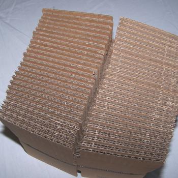Versand - Mini-Versandbox 10x10x10 ungefaltet