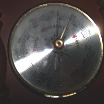 Haushalt/Wetter - Messen & regeln - Mechanische Wetterstation - Barometer