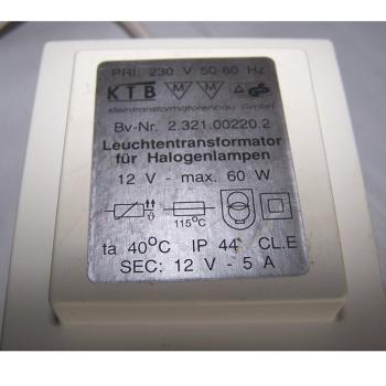 Licht - Einbauleuchten 3 x 12V/20W - Transformator