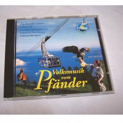 """Souvenirs - Werbung - Audio - Video - Foto - Musik CD """"Volksmusik vom Pfänder"""""""