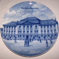 Souvenirs - Haushalt - Dekoration - Wandteller - Otto-Hahn-Gymnasium