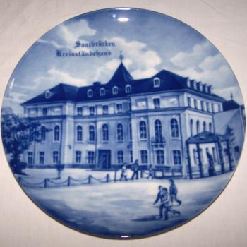 Souvenirs - Haushalt - Dekoration - Wandteller - Kreisständehaus