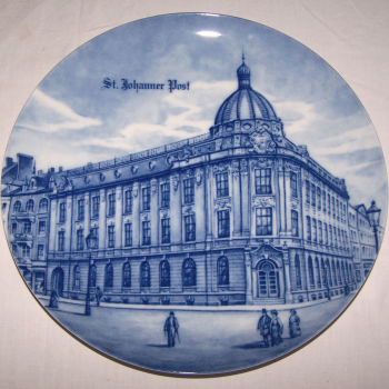 Souvenirs - Haushalt - Dekoration - Wandteller - St. Johanner Post