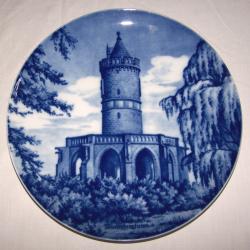 Souvenirs - Haushalt - Dekoration - Wandteller - Winterbergturm