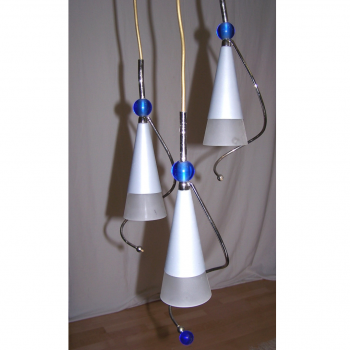 Licht - Decken-Hängelampe mit passender Wandlampe - 3 Leuchten