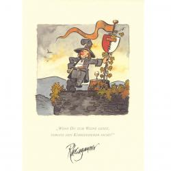 Kunstdruck - Rheingauner
