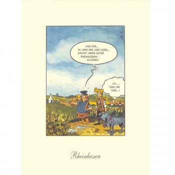 Kunstdruck - KARL - Rheinhessen