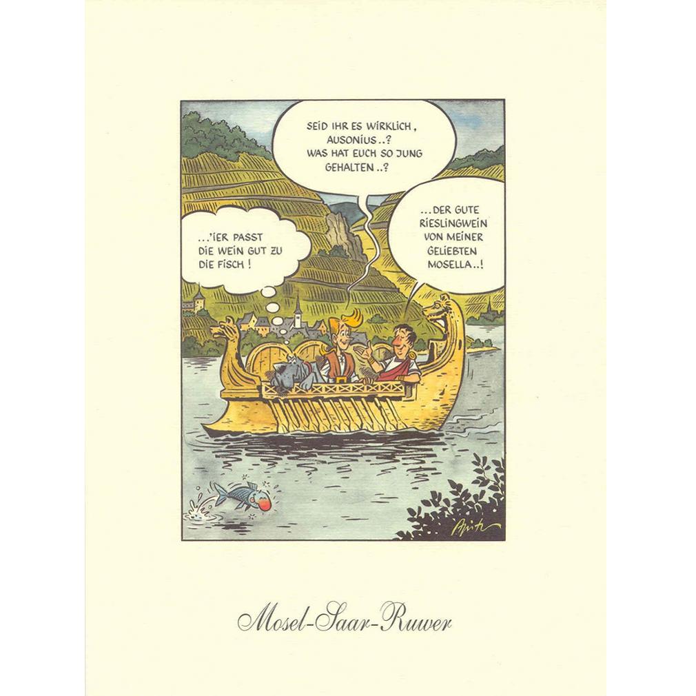 Kunstdruck - KARL - Mosel-Saar-Ruwer