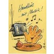 Versand - Comics - Michael Apitz Postkarten Schlemmer-Edition - Handkäs mit Musik