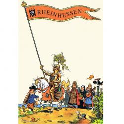 Versand - Comics - Michael Apitz - Postkarte - VDP Rheinhessen