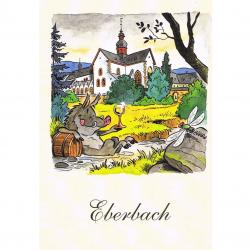 Versand - Comics - Michael Apitz Rheingauner-Postkarten - Eberbach