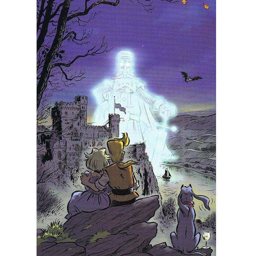 Versand - Comics - Michael Apitz - KARL-Postkarten - Das Erbe